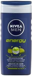 Nivea For Men Pflegedusche Energy, 2er Pack (2 x 250 ml)
