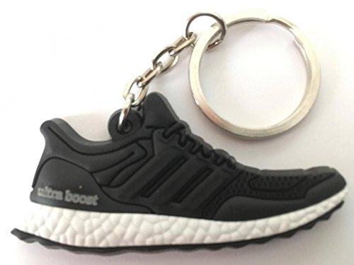 Preisvergleich Produktbild Adidas Ultra Boost Schlüsselanhänger Schwarz-Weiß Sneaker Keychain