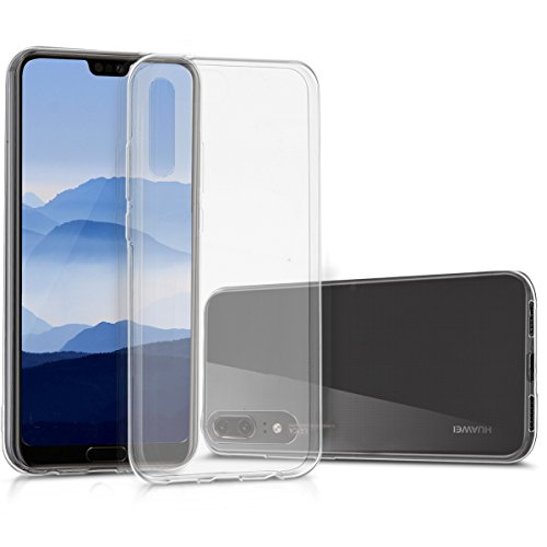 kwmobile Huawei P20 Hülle - Handyhülle für Huawei P20 - Handy Case in Transparent -