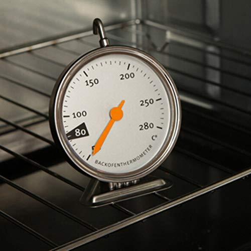 Gaddrt Lebensmittel Fleisch Temperatur Stand Up Dial Backofenthermometer Edelstahl Gauge Thermometer -