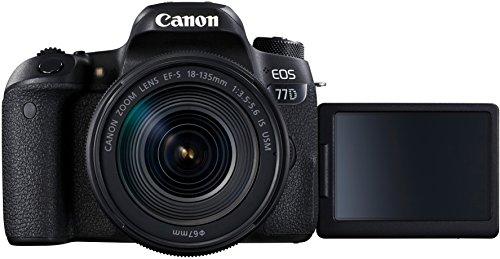 easyCover ECC70D Coque en Silicone pour Canon 70D Noir