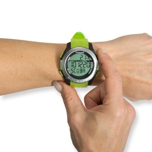 Scubapro CHROMIS Tauchcomputer Taucheruhr (black-lime) - 2