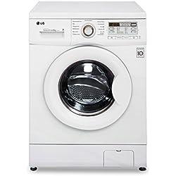 LG F 14B8 TDA1 Frontlader Waschmaschine (A+++, 8 kg, 1400 UpM, Startzeitvorwahl, Sport-Programm, Smart Diagnosis) weiß