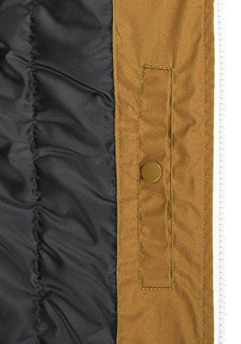 SOLID Tillux Herren Weste mit Kapuze aus hochwertiger Materialqualität Cinnamon (5056)