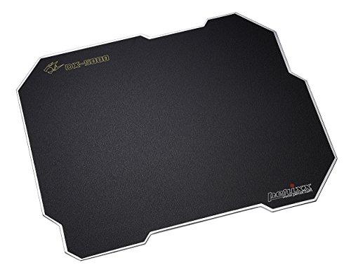 Perixx dx-5000X L, Dual Sided Gaming Mauspad–400x 320x 3mm–Doppelseitiger Aluminium Kern–verstellbar Grip Gel