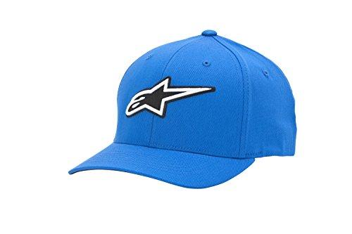 Alpinestars Corporate - Casquette de Baseball - Homme - Bleu (Blue) - Large (Taille fabricant: Large/X-Large)