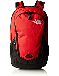 The North Face Vault - Mochila , color negro / rojo, talla única