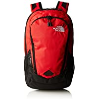 The North Face Vault Backpack - zainetto uso quotidiano, Nero/ Rosso (TNF Black/TNF Red), Taglia unica