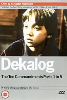 Dekalog: Parts 1-5 [DVD] [1988] (B00005V4UF) | Amazon price tracker / tracking, Amazon price history charts, Amazon price watches, Amazon price drop alerts