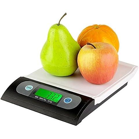Mondpalast @ 7kg Bilancia da cucina digitale Bilancia multifunzione per cucina e cibo
