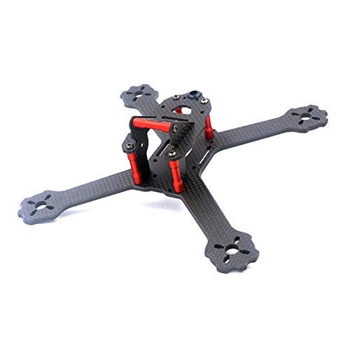 LaDicha Alfa X4/X5-GTR 200mm 175mm Carbon Fiber FPV Racing Freestyle RC Drone True X Frame Kit 4mm Bodenplatte - X4 -