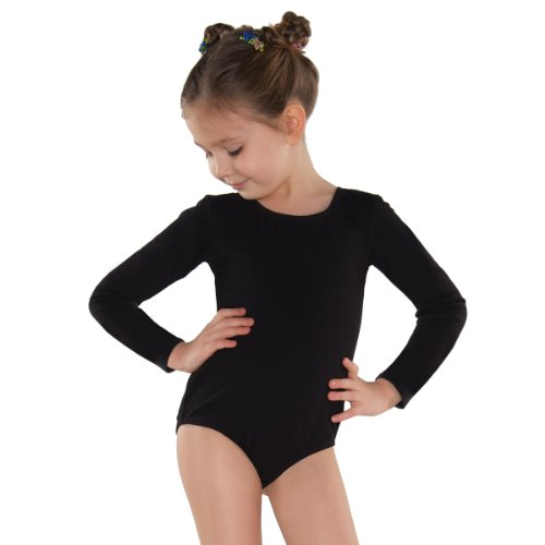 Shepa Mädchen Kinder langarm Gymnastikanzug Ballettanzug 152