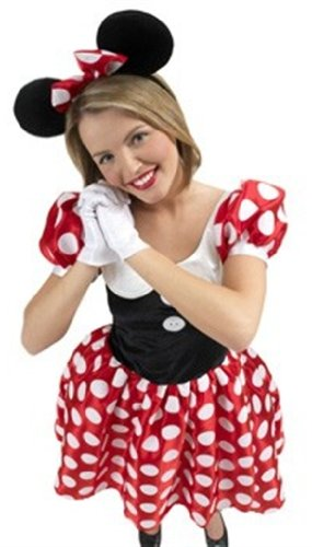Disney Themen Fancy Dress Kostüm - Rubies 3 888584 L - Minnie