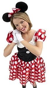 Rubbies - Disfraz de Minnie Mouse para mujer, talla L (R888584-L)