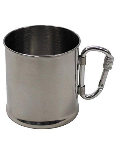 Gobelet en acier inoxydable mousqueton 220 ml