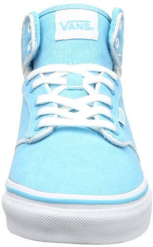 Vans W ATWOOD HI VVOTC7V Damen Sneaker Blau ((Washed Canvas))
