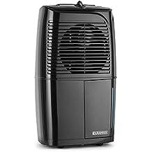 oneConcept Dryhouse 10 deshumidificador compresor secado habitaciones ( 10l/diarios, circulación de aire: 100 m³/h, filtro de aire ambiente, ventilador, silencioso) - negro