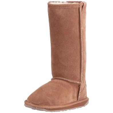 Emu Wallaby Hi, Mädchen Langschaft Stiefel, Beige (Chestnut), 25.5 EU (8 Kinder UK)
