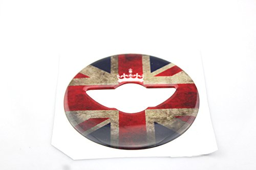 Preisvergleich Produktbild 3D Steering Wheel Cover Dashboard Trim Sticker For Mini Cooper ONE S JCW F Series F54 F55 F56 F57 F60 Countryman Clubman Hardtop Hatchback Coupe Roadster (02)