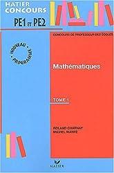 Préparation à l'épreuve de mathématiques du concours de professeur des écoles, tome 1