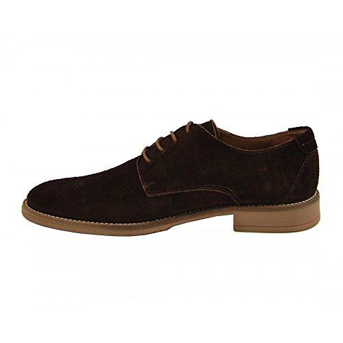 Benavente , Chaussures de ville à lacets pour homme Noisette