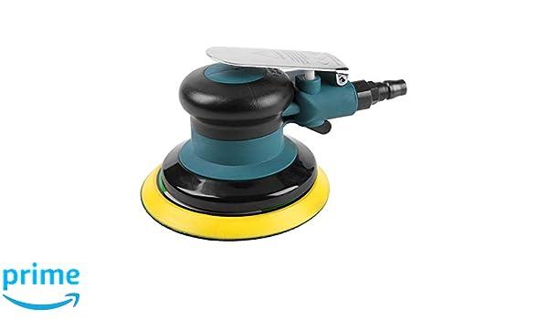 Exzenterschleifer Pneumatisches Schleifwerkzeug Schnelle Schleifgeschwindigkeit zum Schleifen und Polieren f/ür Kunststeine Holzprodukte Druckluft Schleifer M/öbel Metalle