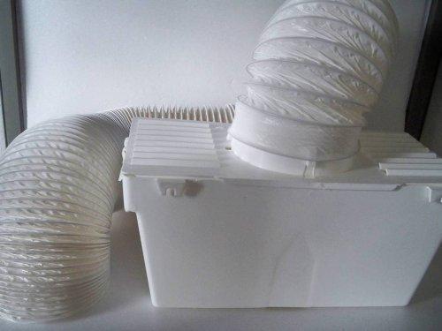 Kondensbox für ablufttrockner trockner inkl. abluftschlauch