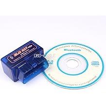 EiioX Mini ELM327 Interface V1.5 Bluetooth OBD-II OBD2 Auto Car Diagnostic Scan Tool