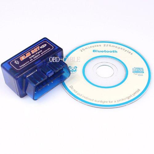 EiioX Mini ELM327 Interface V1.5 Bluetooth OBD-II OBD2 Auto Car Diagnostic Scan Tool (Legacy Gt 2005)