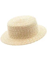 85100c17b93aa Sombrero de Paja de Primavera Verano Protección UV Sombrilla Salvaje  Natural Playa de la Playa Sombreros