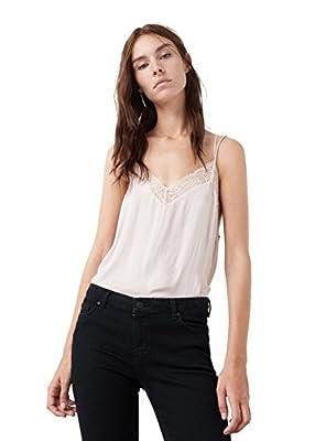 MANGO - Lace flowy Shirts Sleveless top
