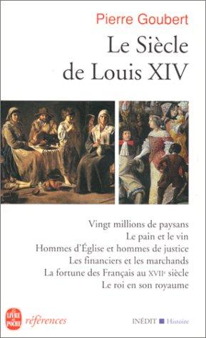Le siècle de Louis XIV: études