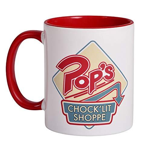 Riverdale Tasse Pop's Chock'lit Shoppe Logo 320ml Elbenwald Keramik -