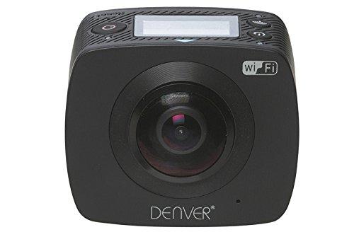Denver ACV-8305W 360-Grad Action-Kamera (WiFi), Schwarz