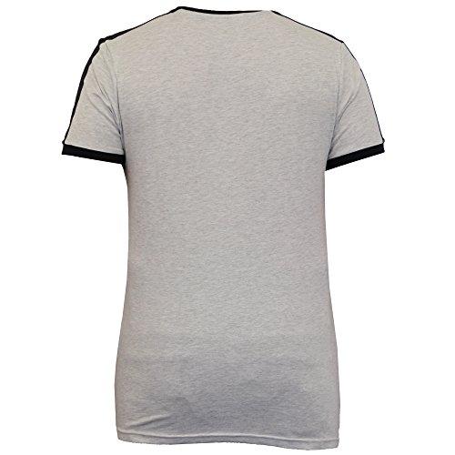 Herren T-shirt Brave Soul Kurzärmeliges Top Rundhals Einfache Lässig Mode Sommer Ecru - 69PETE