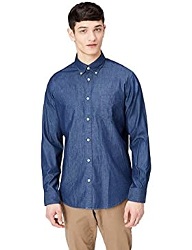 FIND Camicia Chambray Regular Fit Uomo