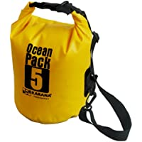 Karana Ocean Dry Pack Day Waterproof Travel Kayak Bag 5 Litre 5L Yellow