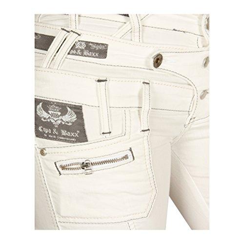 Cipo & Baxx -  Jeans  - Donna Bianco