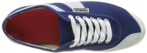Kawasaki 23 Nautico E14, Baskets mode homme Bleu (Blue White Stripe Navy)