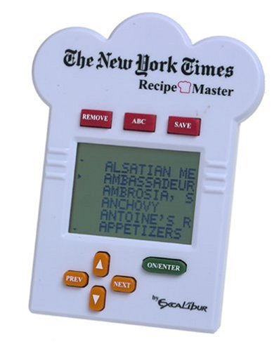 The New York Times Recipe Master - 1000 Recipes by Excalibur