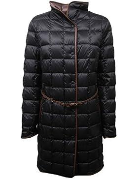 C4074 giubbotto donna FAY piumino nero trapuntato jacket woman