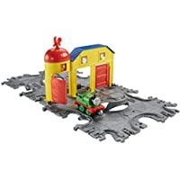 Fisher-Price Fisher Price Thomas & Friends Take-n-Play Farm Tile Tracks with Percy Train