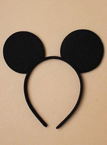 oder Maus Ohren auf schwarz Alice Band verkleiden sich Halloween-Party (Weiblich Halloween Maske)