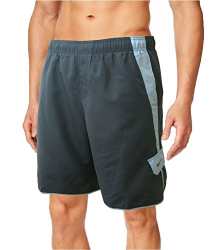 Herren Nike Swim Trunks (Herren Nike Volley Core Swim Shorts, Midnight Navy, Medium)