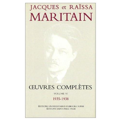 Oeuvres complètes, volume VI, 1935-1938