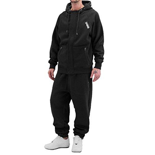 Dangerous DNGRS Männer Sport-Anzug Rock in schwarz XL