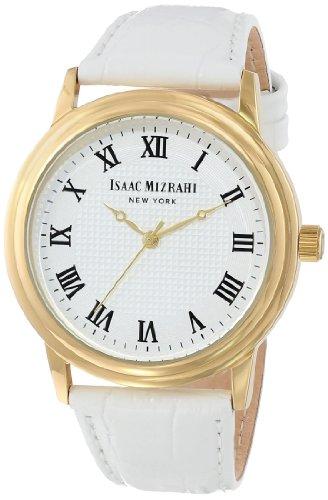 isaac-mizrahi-para-mujer-imn03w-blanco-pulido-funda-tono-de-oro-vintage-correa-de-piel-color-blanco-