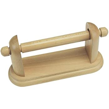 Wooden Toilet Roll Holder wood Wall Mounted