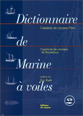Dictionnaire de la marine à voile (1 livre + 1 CD audio)