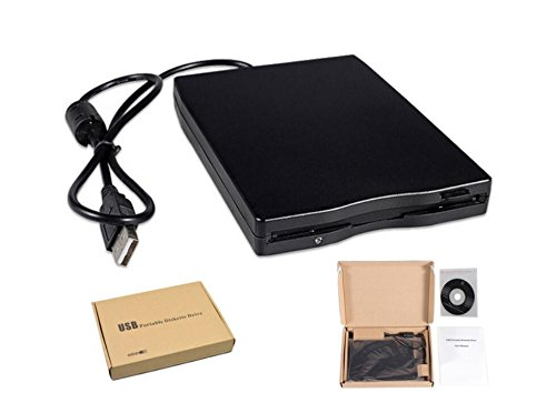 "HaoYiShang 3,5""Externes Diskettenlaufwerk USB 2.0 Tragbarer 1.44MB Leser FDD PC Laptop"